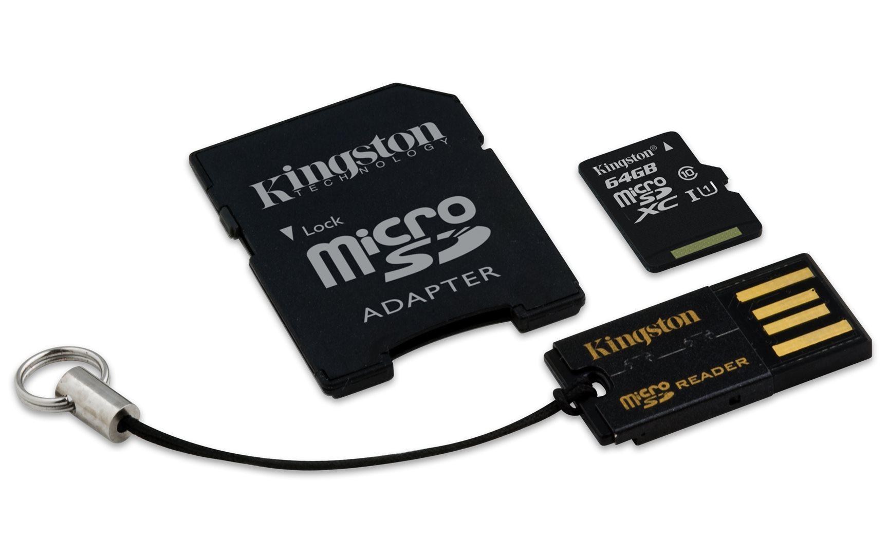 Kingston 64GB Mobility Kit G2 class 10