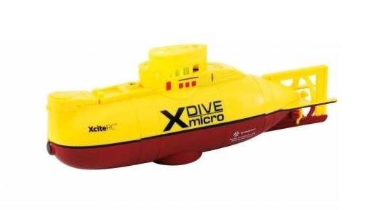 RC Ponorka X-Dive žlutá