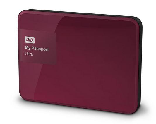 """WD My Passport 2.5"""" 3TB červený"""