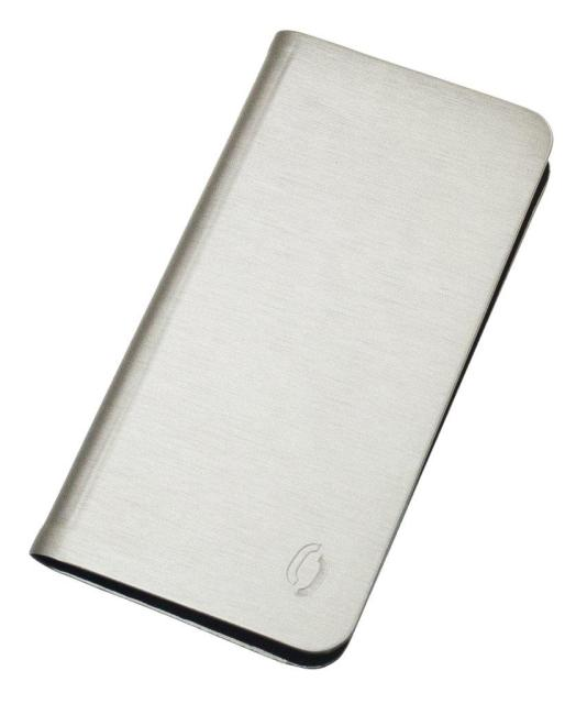 "Aligátor Book Steel velikost M (4""- 4,5"") champagne"