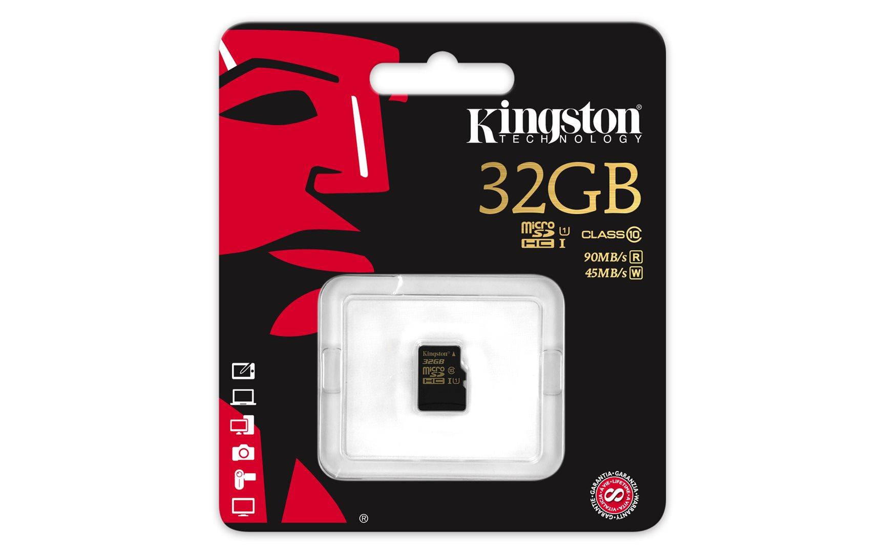 Kingston micro SDHC 32GB UHS-I