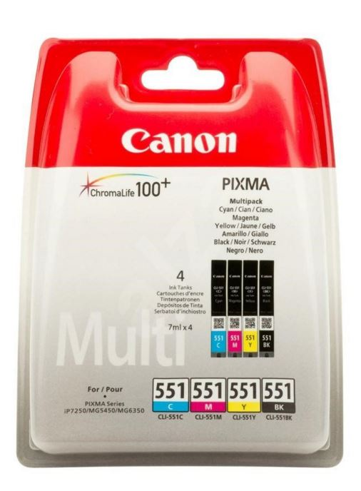 Canon CLI-551 CMYK