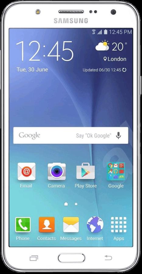 Samsung Galaxy J5 J500F Dual SIM White