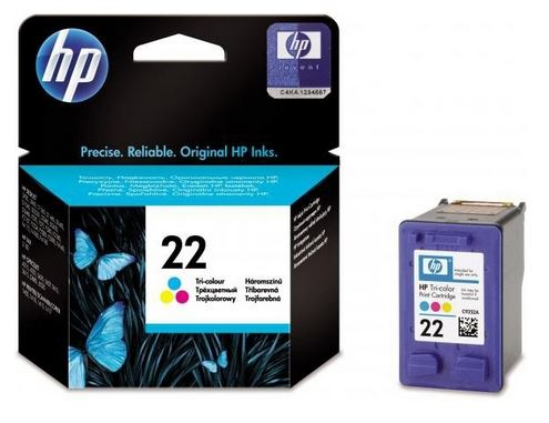 HP 22 tříbarevná