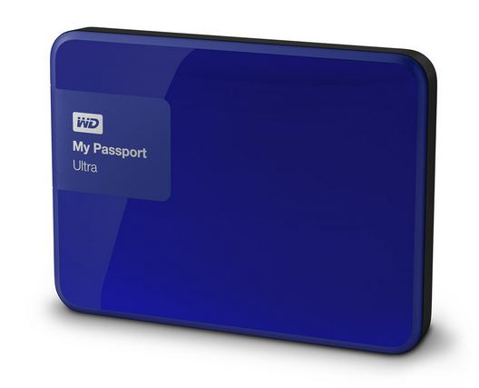 "WD My Passport 2.5"" 3TB modrý"