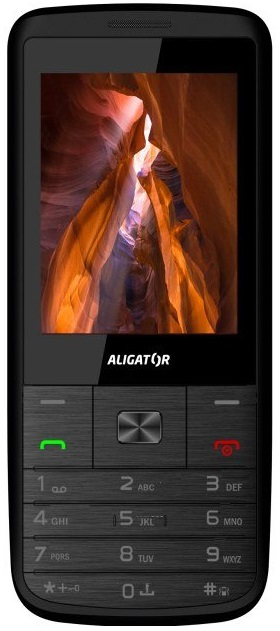 ALIGATOR D920 Dual SIM černo-stříbrný
