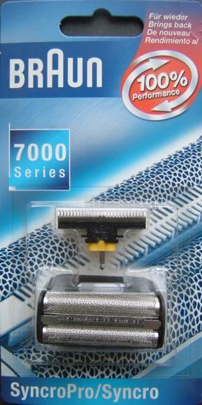 Náhradní fólie Braun Combi-pack Syncro Pro 7000