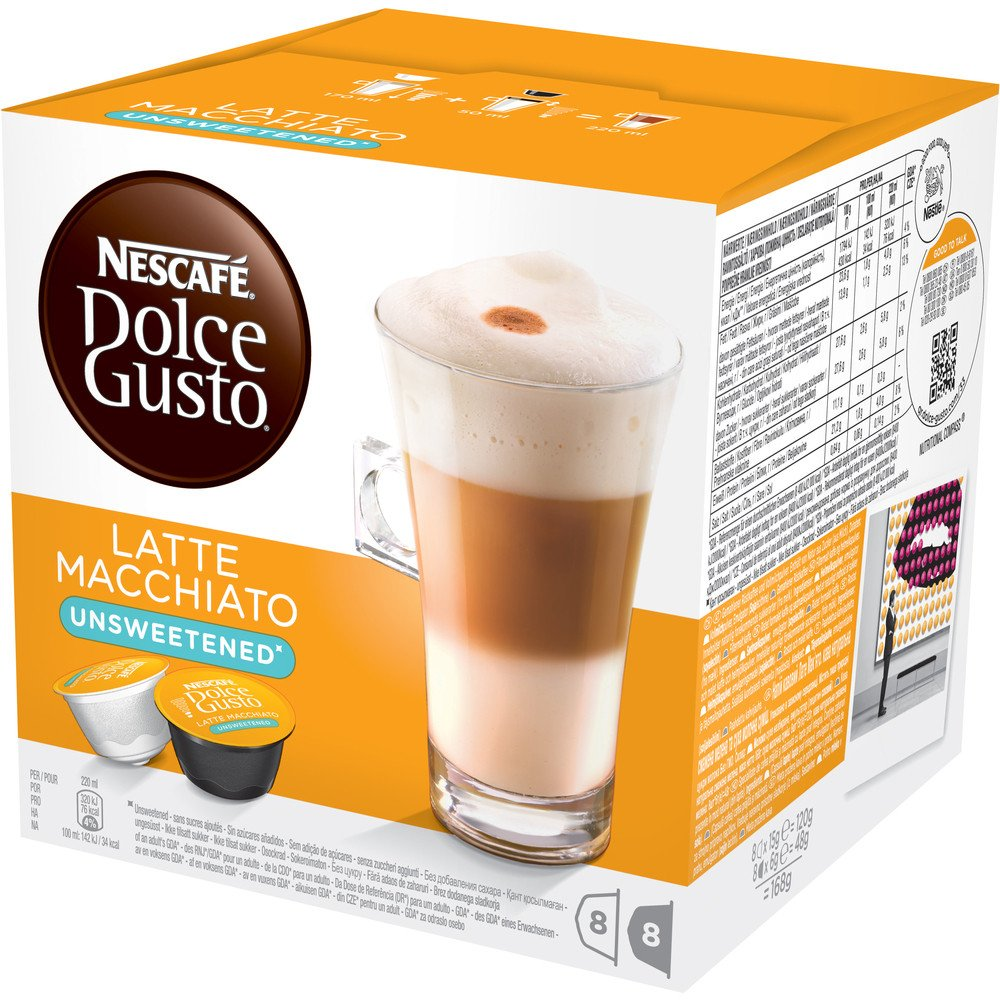 Nescafé Dolce Gusto Latté Macchiatto bez cukru