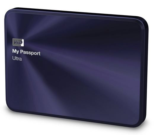"WD My Passport 2.5"" 1TB modrý"