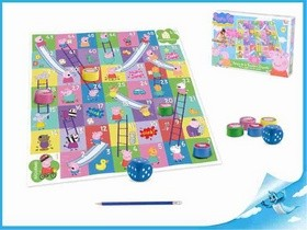 Imc Toys Prasátko Peppa: Skluzavky a žebříky