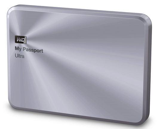 """WD My Passport 2.5"""" 1TB stříbrný"""