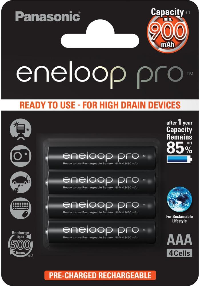Panasonic Eneloop AAA 4ks 4HCCE/4BE
