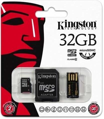 Kingston Mobility Kit G2 microSD 32GB class 10