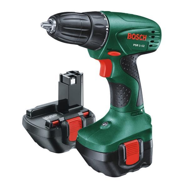 Bosch PSR 12, 2x AKU