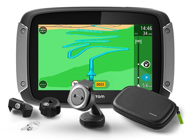 TomTom Rider 400 Premium Europe Lifetime