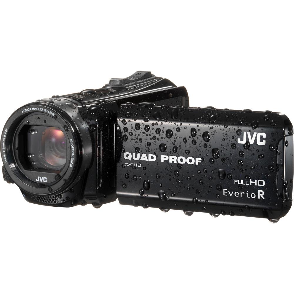 JVC GZ R415B Full HD