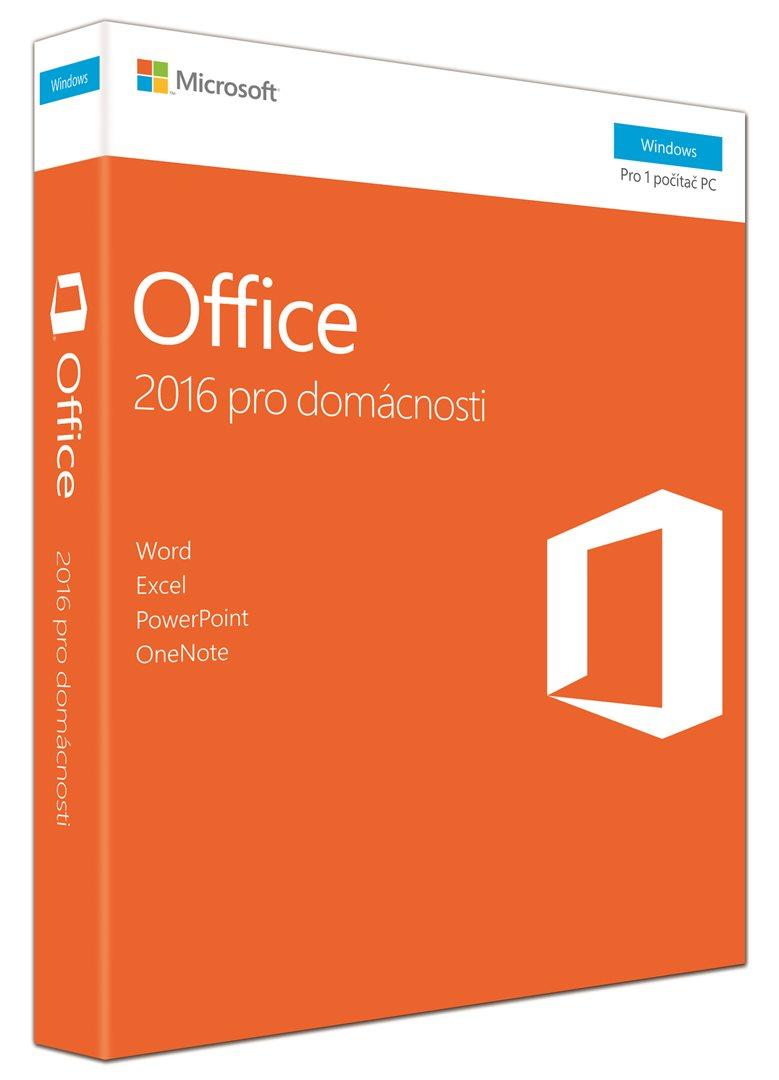 MS Office 2016 pro domácnosti CZ (79G-04723)