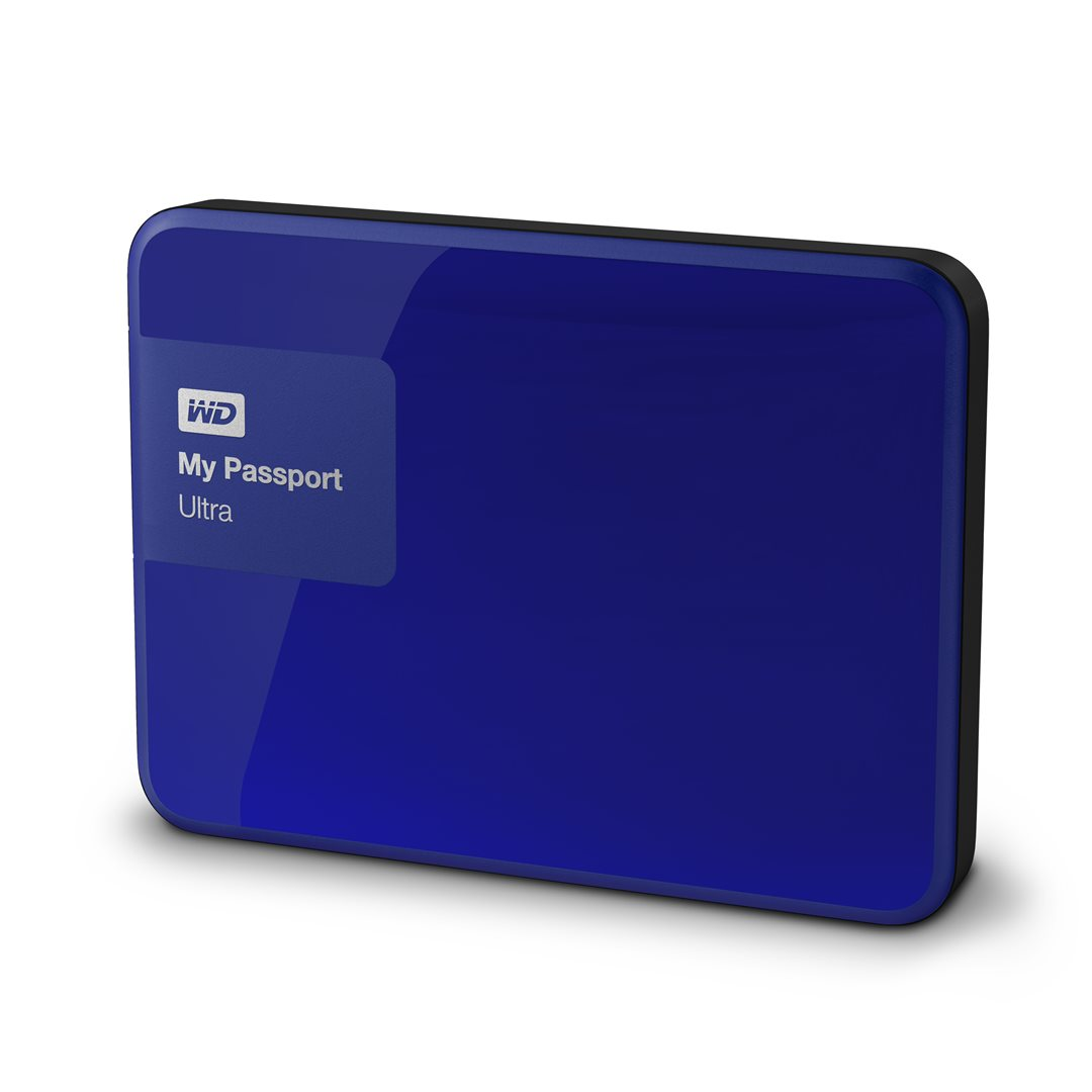 "WD My Passport 1TB 2.5"" modrý"