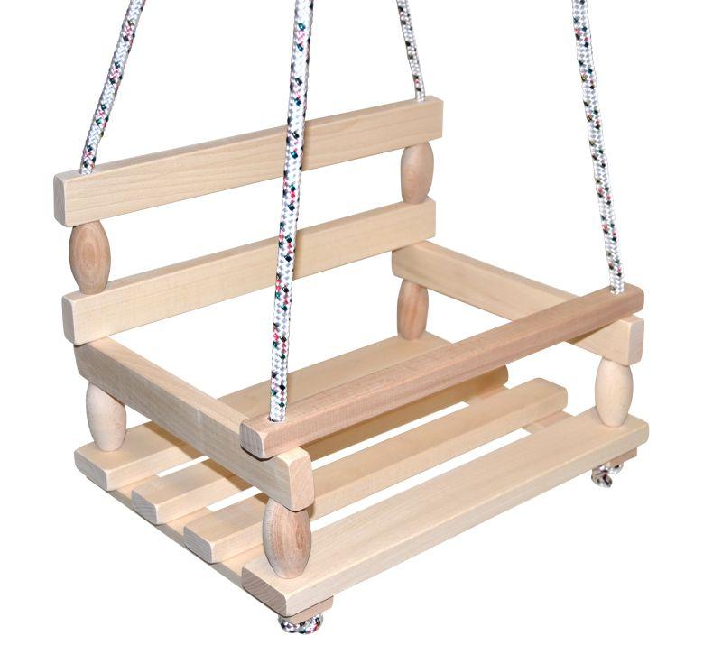 Teddies Houpačka dřevěná
