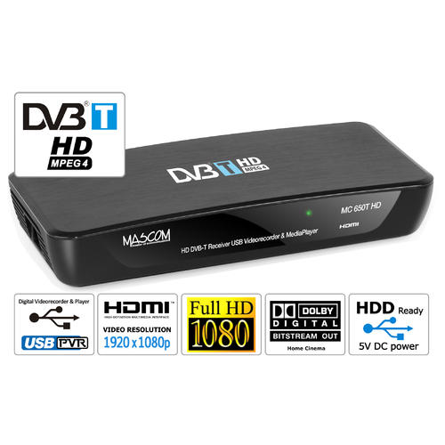 Mascom MC650T HD