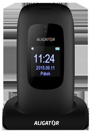 Aligator V600 Senior černý