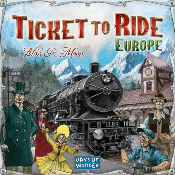 Ticket to Ride-Europe
