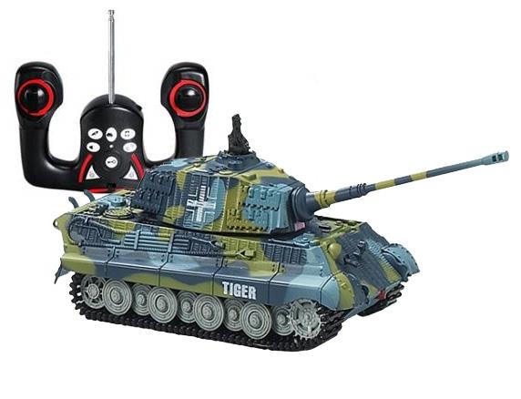 RC tank King Tiger 1/72