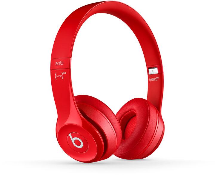 Beats Solo 2 červené