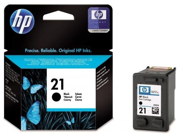 HP 21 černá