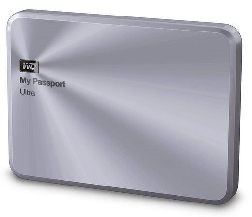 """WD My Passport 2.5"""" 2TB stříbrný"""