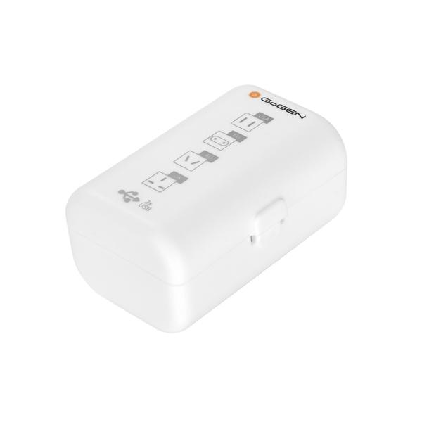 GoGEN pro 150 zemí, 2x USB, bílý