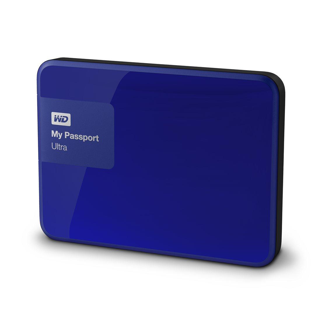 "WD My Passport 2TB 2.5"" modrý"