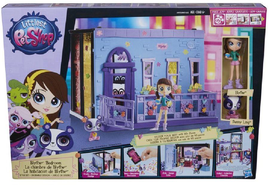 Littlest Pet Shop Blythina ložnice