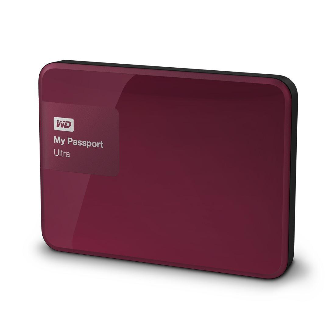 """WD My Passport 1TB 2.5"""" červený"""