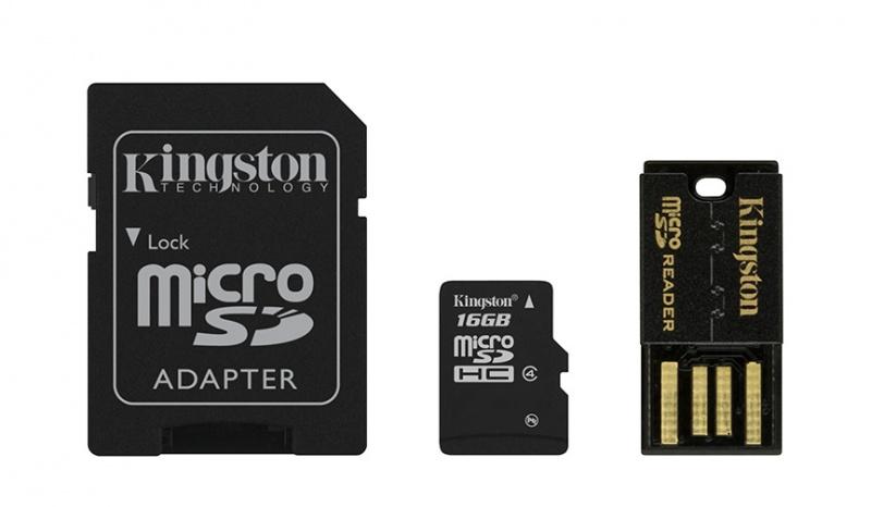 Kingston micro SDHC 16GB class 4
