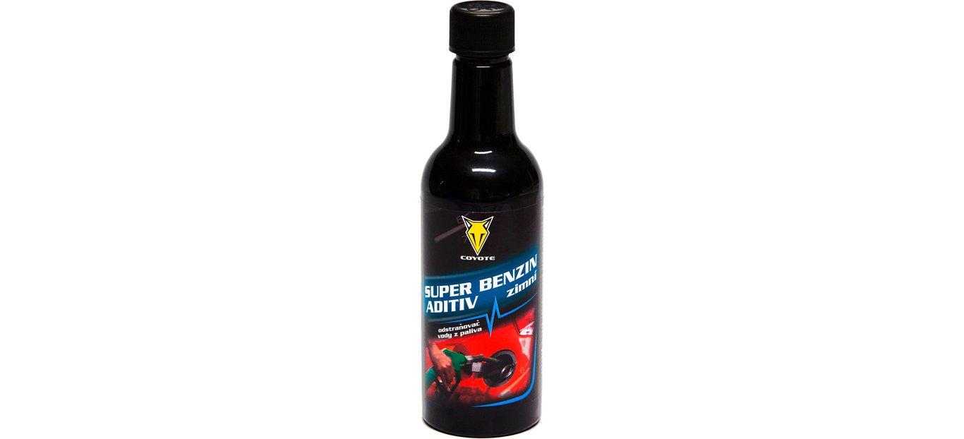 Coyote Super benzin aditiv zimní odstraňovač vody z paliva 450ml