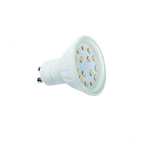 Kanlux LED žárovka GU10 5W 400lm 15 SMD C teplá bílá