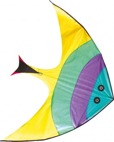 Létající drak ve tvaru ryby