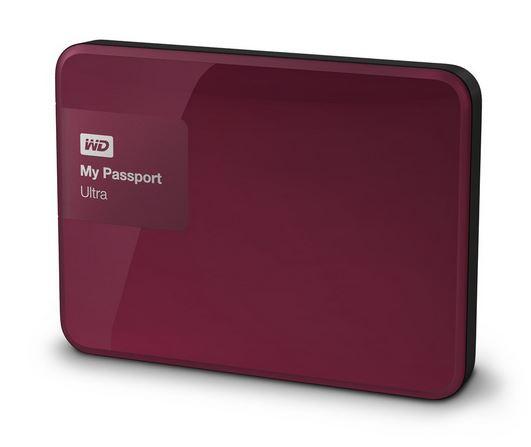 "WD My Passport 2.5"" 500GB červený"