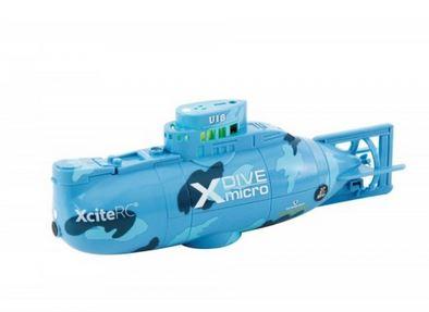 RC Ponorka X-Dive modrá