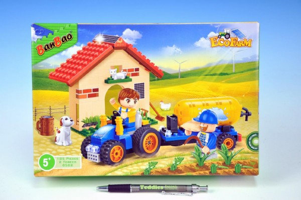 BanBao Traktor s cisternou
