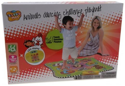 Alltoys Hrací podložka - taneční zvířátka