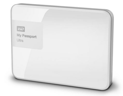 """WD My Passport 2.5"""" 2TB bílý"""