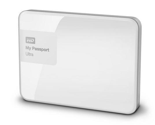 """WD My Passport 2.5"""" 500GB bílý"""