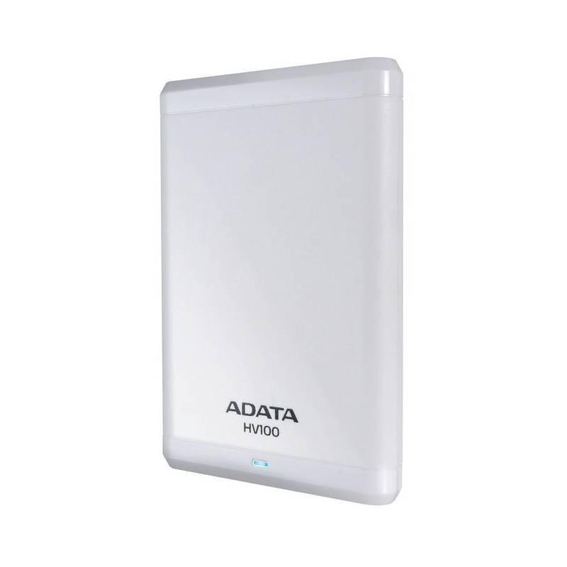 A-DATA HV100 - 500GB, bílá