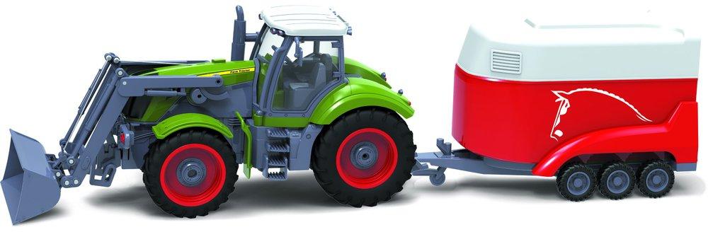 Buddy Toys BRC 28.611 RC Traktor přívěs na koně