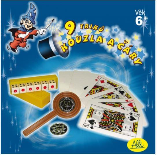Albi hra kouzla a čáry - modrá sada 96458