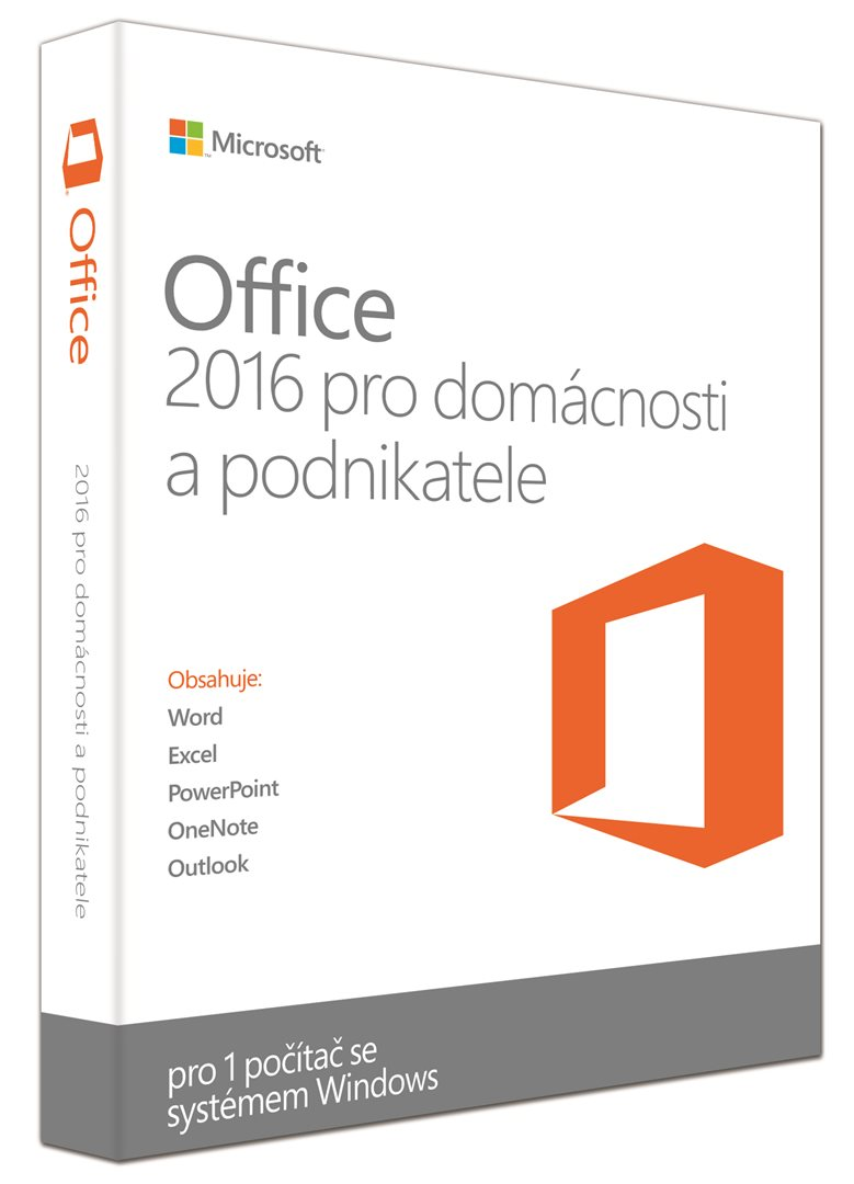 MS Office 2016 home and business CZ (T5D-02421)