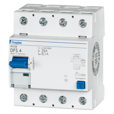 Doepke 25A 4P 30mA IP40 DFS4 025-4/0,03-AC
