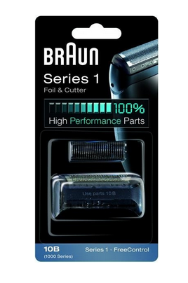 Braun Combi Pack Series 1 - 10B black